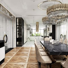 Dining room by ARTDESIGN architektura wnętrz,