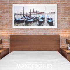 Mieszkanie na Os. Europejskim: styl , w kategorii Sypialnia zaprojektowany przez MAXDESIGNER
