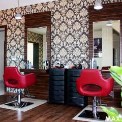 Beauty Art Salon Urody w Kryspinowie pod Krakowem od MAXDESIGNER Nowoczesny