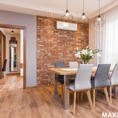 Dining room by MAXDESIGNER, Industrial
