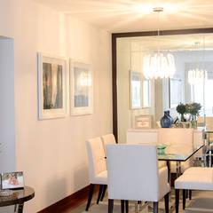 Sala comedor en San Isidro: Comedores de estilo  por Velú Studio, Moderno