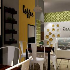 Cardamomo: Restaurantes de estilo  por CALLI Interiorismo