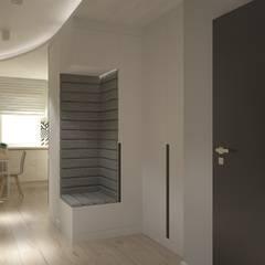 Kołacińska: styl , w kategorii Korytarz, przedpokój zaprojektowany przez Patryk Kowalski Architektura i projektowanie wnętrz