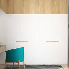 Ostródzka: styl , w kategorii Garderoba zaprojektowany przez Patryk Kowalski Architektura i projektowanie wnętrz