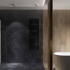 Ostródzka: styl , w kategorii Łazienka zaprojektowany przez Patryk Kowalski Architektura i projektowanie wnętrz