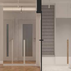 Długa: styl , w kategorii Korytarz, przedpokój zaprojektowany przez Patryk Kowalski Architektura i projektowanie wnętrz