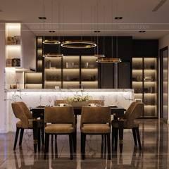 CẢM HỨNG MANHATTAN TRONG THIẾT KẾ CĂN HỘ LANDMARK 81:  Phòng ăn by ICON INTERIOR