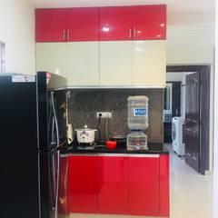 Cocinas equipadas de estilo  por Nxt Dream Interiors , Asiático