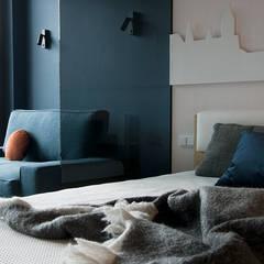 Apartament B.: styl , w kategorii Hotele zaprojektowany przez TIKA DESIGN