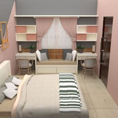 Jamali interiors:  Nursery/kid's room by Jamali interiors