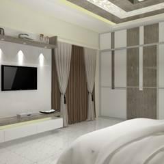 Bedroom by Jamali interiors,