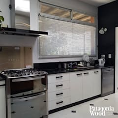 Built-in kitchens by Patagonia wood
