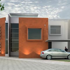 Passive house by TM+2 arquitectos, Minimalist Bricks