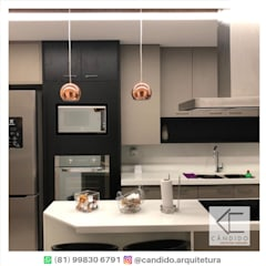 Kitchen units by CÂNDIDO.ARQUITETURA