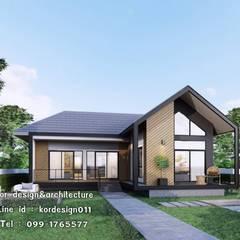 งานออกแบบบ้านชั้นเดียว รหัส MD1-005:  บ้านเดี่ยว โดย Kor Design&Architecture, โมเดิร์น คอนกรีต