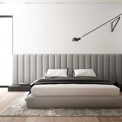 WARSZAWA WILANÓW/ DOM/ 200M2: styl , w kategorii Sypialnia zaprojektowany przez TILLA