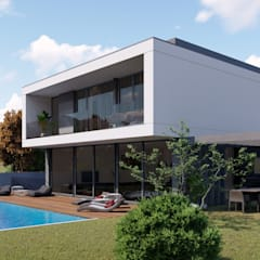 Detached home by Miguel Zarcos Palma