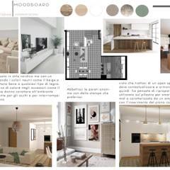غرفة المعيشة تنفيذ Design for Love , إسكندينافي