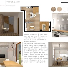 Built-in kitchens by Design for Love, Minimalist