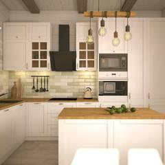 Cocinas de estilo  por Faktura,