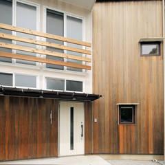 Деревянные дома в . Автор – 一級建築士事務所 感共ラボの森