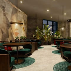 Design Haus by Mahsa to bring Motorino Pizzeria to life through design:  Dining room by Design Haus by Mahsa
