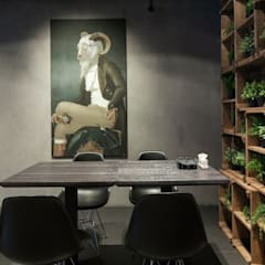 "Ресторан ""Gyro Grill"": Ресторации в . Автор – Павел Исаев, Лофт Бетон"