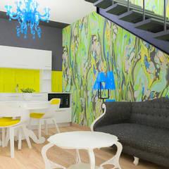 Un design intérieur insolite: Petites cuisines de style  par D.DESIGN