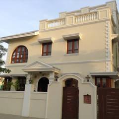 منزل ريفي تنفيذ Aavran- Architects & Interior Designers,