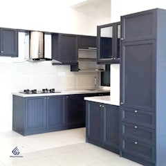 Wood Grain Kitchen Cabinets :  Commercial Spaces by Alloy Kitchen