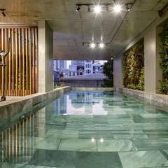 Căn hộ cho thuê _ Tropical house:  Nhà by công ty cổ phần kiến trúc - nội thât L & W