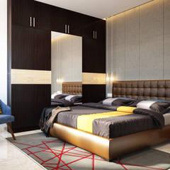 Scandinavian:  Bedroom by Space Clap