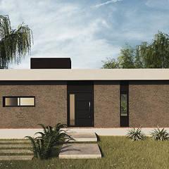 CASA AF: Casas unifamiliares de estilo  por MOD | Arquitectura,Moderno