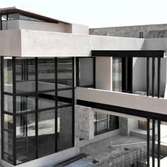CASA BO.: Balcón de estilo  por ARQCUBO ARQUITECTOS