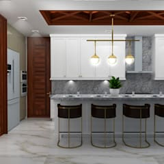 COCINAS: Cocinas equipadas de estilo  por BSRG Arquitectura