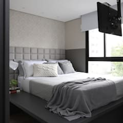 Small bedroom by INSIDE ARQUITETURA E DESIGN