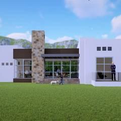 : Casas unifamiliares de estilo  por AA ARQUITECTURA AVANZADA