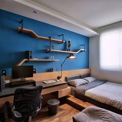 向你說早安:  小臥室 by 安提阿設計有限公司