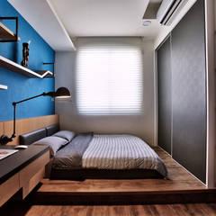 Small bedroom by 安提阿設計有限公司