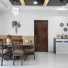 Indian Ethnic:  Dining room by Raja Akkinapalli Images