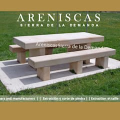 Bars & clubs by Areniscas Sierra de la Demanda   - ◉ - SIERRA  Buff  Sandstone  quarries in  Spain