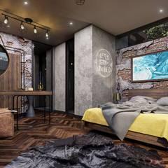 VERO CONCEPT MİMARLIK – Statü Urla Villa:  tarz Yatak Odası
