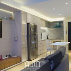 CBD PLUIT: Dapur built in oleh AW.D (ariwibowo.design),