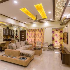 Interior Designers in HSR Layout Bangalore | Best Interior Design Firm HSR Layout | Decorpot:  Corridor & hallway by Decorpot,