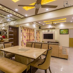 Interior Designers in HSR Layout Bangalore | Best Interior Design Firm HSR Layout | Decorpot:  Dining room by Decorpot