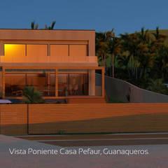 Bungalow oleh Territorio Arquitectura y Construccion - La Serena