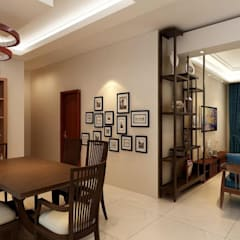 Living room by Matter Of Space Pvt. Ltd.