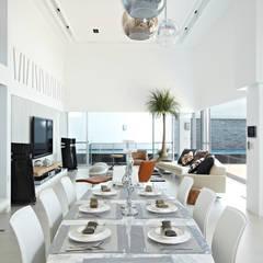 餐廳:  餐廳 by 瑞嗎空間設計, 現代風