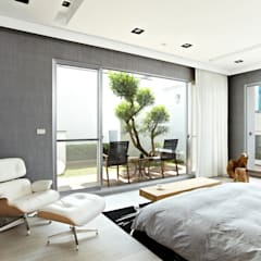 Balcony by 瑞嗎空間設計, Modern
