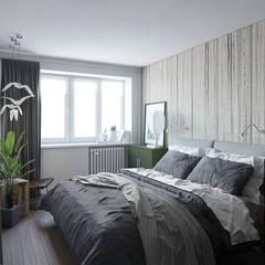 غرف نوم صغيرة تنفيذ J.Lykasova